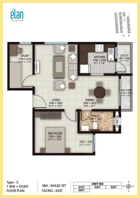 two bedroom house floor plans 1 bhk 2 bhk and 3 bhk apartments in coimbatore sobha elan