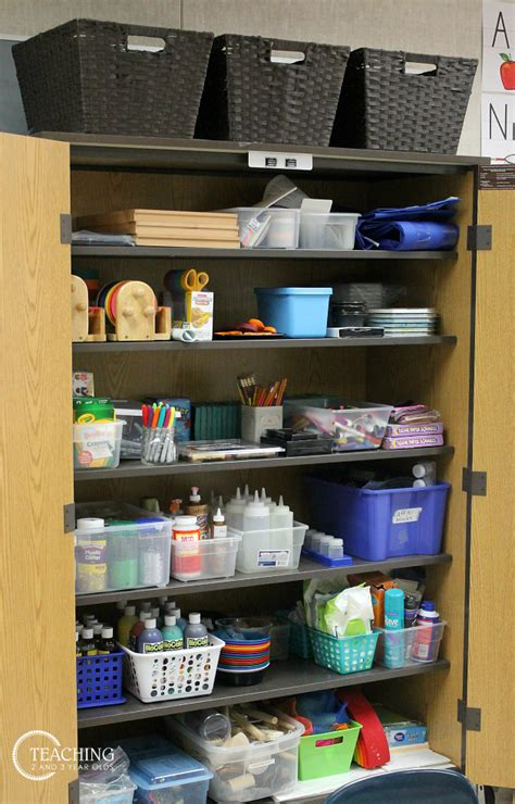 organizing preschool classroom supplies 699 | organizing classroom 4