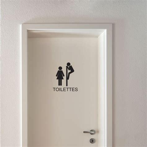 sticker wc signal 233 tique toilettes stickers porte stickers deco fanastick