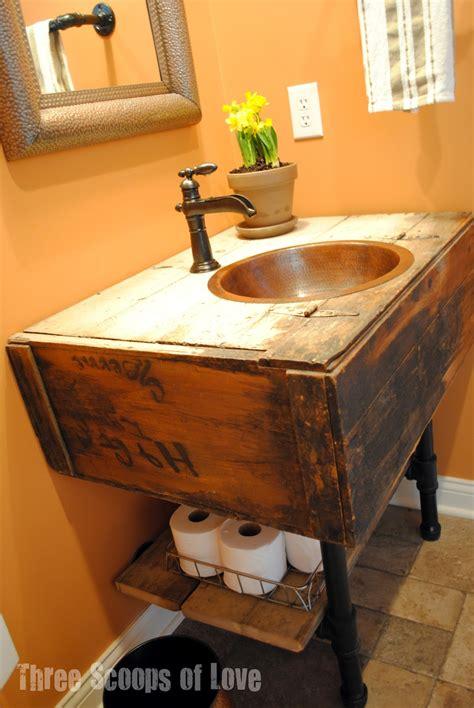 diy bathroom vanity 14 creative diy bathroom vanities