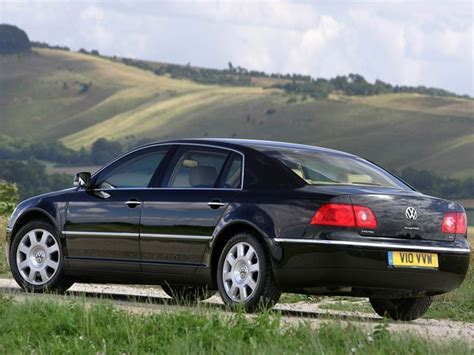volkswagen phaeton this is probably one of the most over engineered german