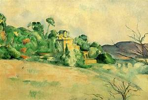 Landscape at Midday - Paul Cezanne - WikiArt.org ...