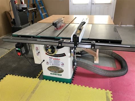 grizzly cabinet saw review 10 quot 3hp 220v cabinet table saw with riving knife grizzly