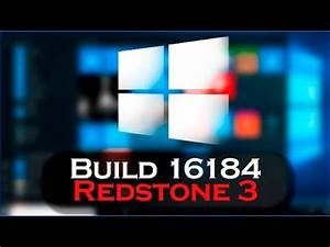 Dissecando o Windows 10 Build Redstone 3