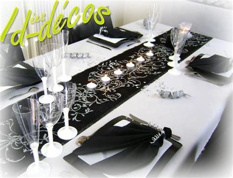 deco de salle mariage noir et blanc d 233 coration salle anniversaire noir et blanc