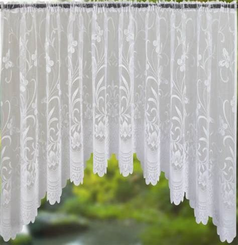 jardiniere net curtains white lace curtain panel ready to