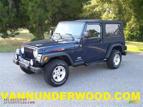 jeep dark blue 2006 jeep wrangler unlimited 4x4 in midnight blue pearl