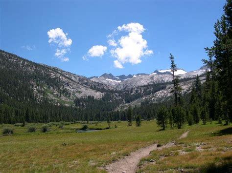 Lyell Canyon Yosemite National Park Backpacking Day