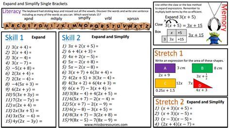 Simplifying Equations Worksheets Year 8 Tessshebaylo
