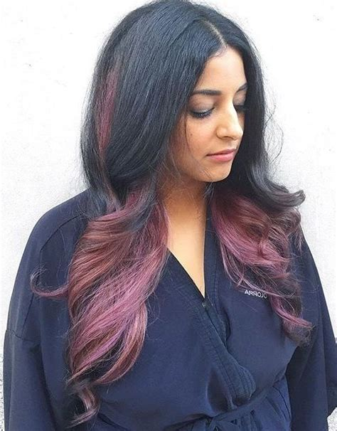 Different Colors Of Black Hair by 20 Fall Hair Colors And Highlights Ideas