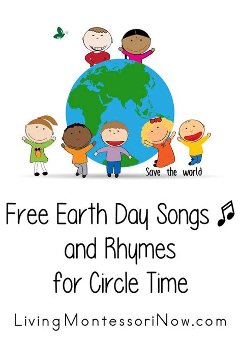 free earth day songs and rhymes for circle time living 123 | Free Earth Day Songs and Rhymes for CircleTime