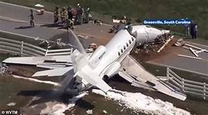 Two dead in South Carolina private jet crash   Daily Mail ...