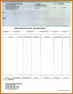 Free check stub template printables modern bio resumes for Template for payroll check stub