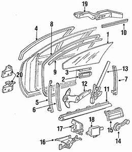 Chevrolet Impala Channel  Assembly - Side Window  Chnl