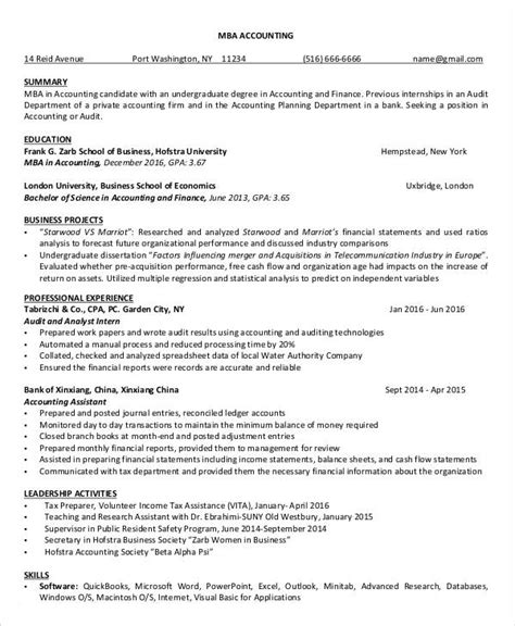 finance resume templates    premium