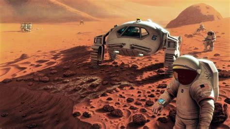 elon musks vision   sustaining martian city manned