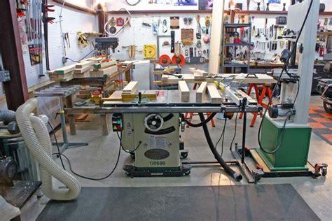 setup garage woodshop layout  case   hunting