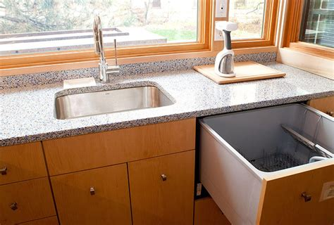 kitchen sink built into countertop small dishwasher options for small kitchens apartment