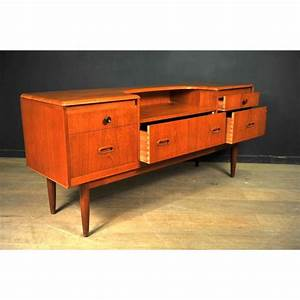 Meuble TV Scandinave En Teck 1960 Design Market