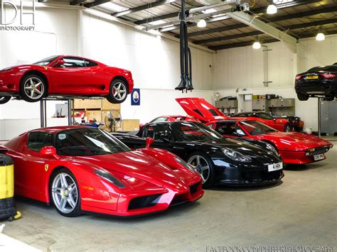 ferˈraːri) is an italian luxury sports car manufacturer based in maranello, italy. Ferrari Garage - Enzo, Carrera GT, 308 x2, 599GTB, 360 Modena and Gran Turismo - a photo on ...