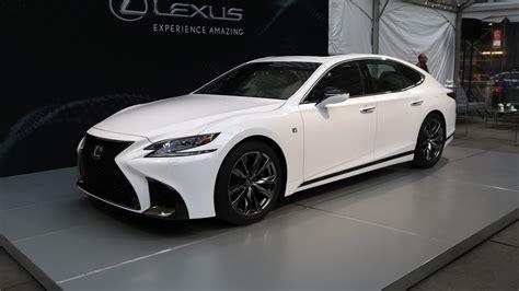 lexus ls 2018 2018 lexus ls 500 f sport is a more aggressive luxury sedan