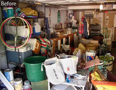 If Your Garage Looks Something Like This, We Can Transform