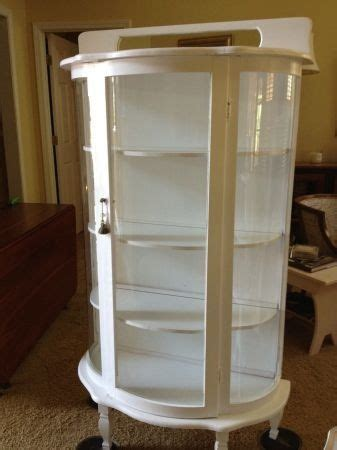 white curio cabinet furniture white curio cabinet not sure i could paint mine but it is