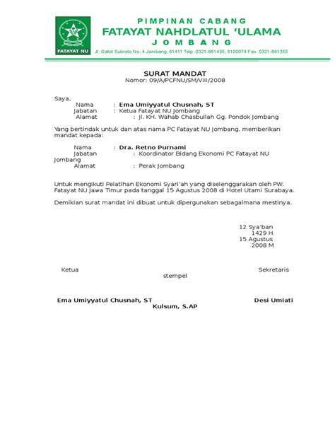 Adapun surat resmi, seperti contoh surat mandat musrenbang desa 2020 diketik dan diprint secara manual, karena membutuhkan tanda tangan/stempel basah. Contoh Surat Mandat