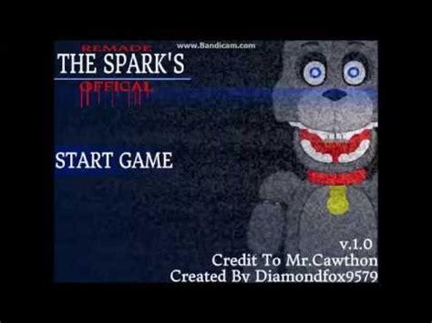 fnaf fan games scratch scratch fnaf fan game 2 the sparks youtube