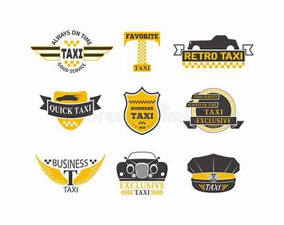 Taxi Vector Badge Logos Sign Business Service