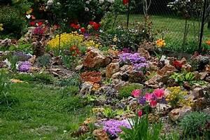 la rocaille en mai pele mele idees pinterest With good jardin de rocaille photos 1 les jardins du gue grande rocaille