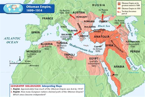 Empire Ottoman 1915 by Immigrants From The Middle East And Africa