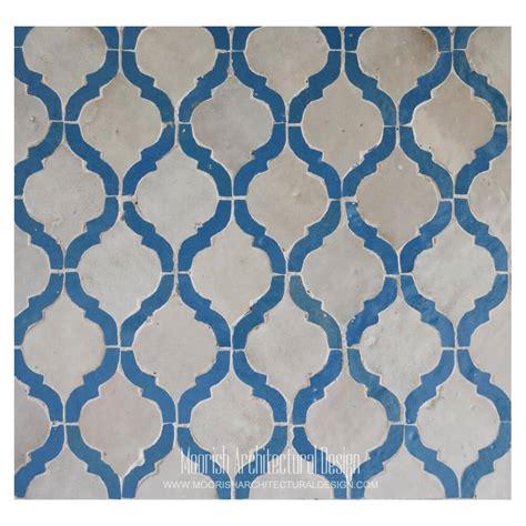 blue arabesque tile blue arabesque tile