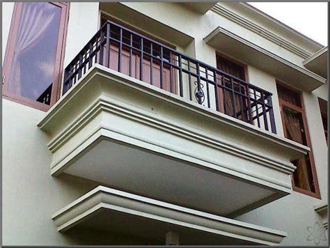 gambar model balkon minimalis   model teras