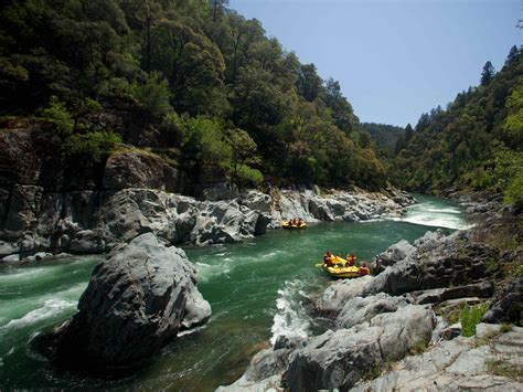 fork american river whitewater rafting in california
