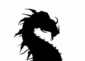 Dragon Silhouette by xKeren on DeviantArt