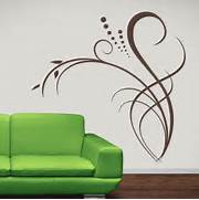 Wall Stickers Decoration Artistic About Floral Decor Flowers Wall Decal Wall Art Stickers Transfers