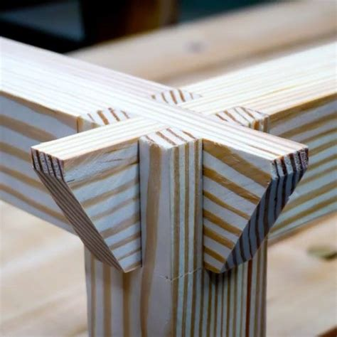 interlocking double bridal joint aka castle joint