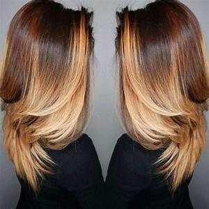 Ombré Hair Chatain : ombr hair cheveux long des conseils pour un look parfait ~ Nature-et-papiers.com Idées de Décoration