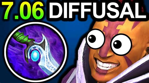 diffusal antimage dota 2 patch 7 06 new meta gameplay youtube