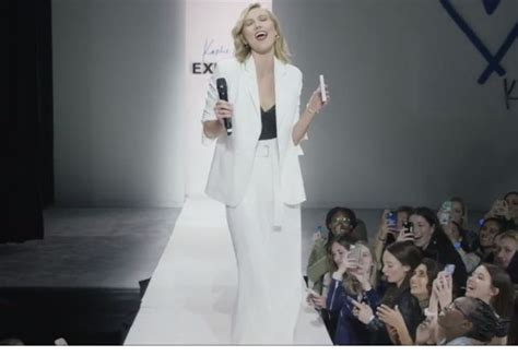 Express Reboots With Karlie Kloss Collaboration Social Media