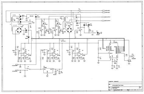 ups schematic diagram