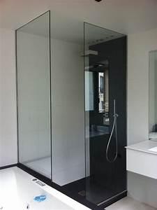 Découpe De Verre Sur Mesure : parois de douche en verre tremp sur mesure verre tremp ~ Dailycaller-alerts.com Idées de Décoration