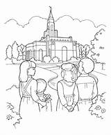 Lds Coloring Pages Primary Temple Line Library Children Visit Ldsprimary Gt sketch template