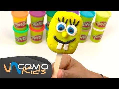 Bob Esponja con plastilina Play Doh YouTube