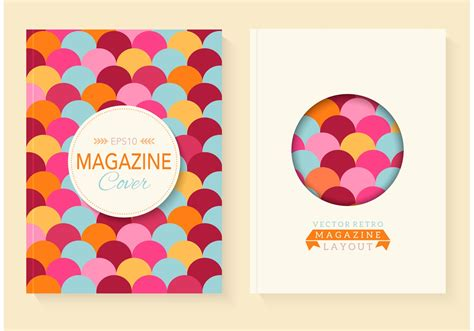 Retro Magazine Vector Covers