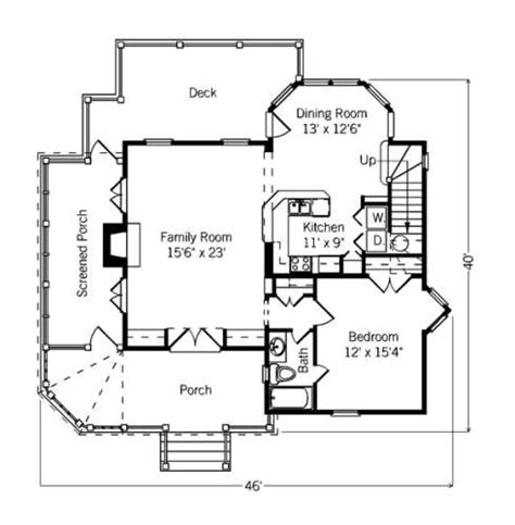 Small Cottage Floor Planscompact Designs For