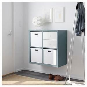 Ikea Kallax Flur : kallax shelving unit high gloss grey turquoise ikea pinterest flure wohnideen und eingang ~ Markanthonyermac.com Haus und Dekorationen