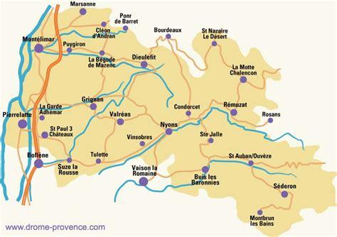 chambre d hotes drome carte de la drôme provençale