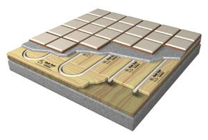 hydronic radiant floor heating tile simply radiant how to